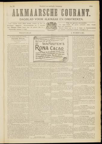 Alkmaarsche Courant 1914-02-04