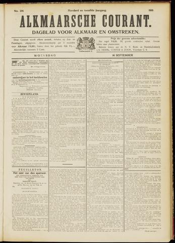 Alkmaarsche Courant 1910-09-14