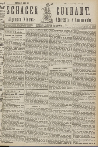 Schager Courant 1920-04-07