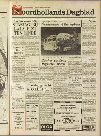 Noordhollands Dagblad : dagblad voor Alkmaar en omgeving 1967-10-21
