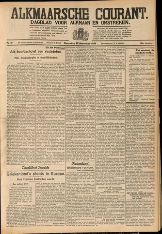 Alkmaarsche Courant 1934-11-28
