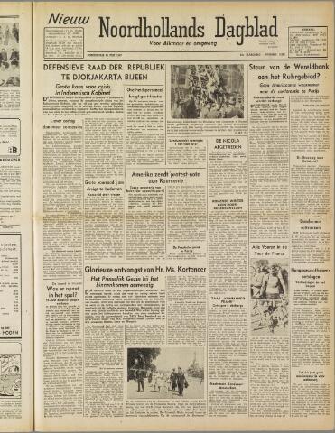 Nieuw Noordhollandsch Dagblad : voor Alkmaar en omgeving 1947-06-26