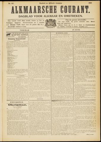 Alkmaarsche Courant 1913-06-27