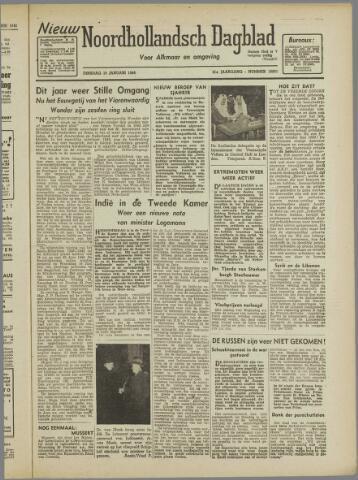 Nieuw Noordhollandsch Dagblad : voor Alkmaar en omgeving 1946-01-15