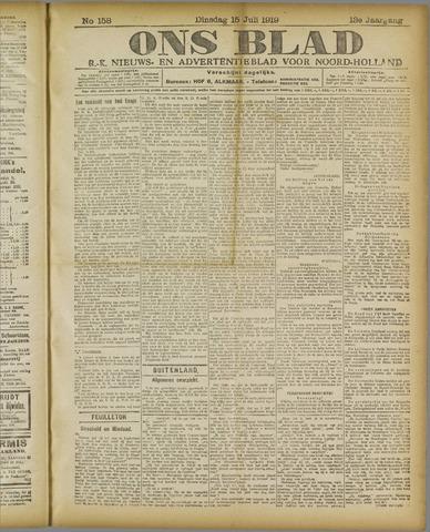 Ons Blad : katholiek nieuwsblad voor N-H 1919-07-15