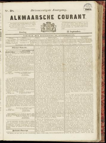Alkmaarsche Courant 1861-09-22