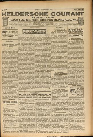 Heldersche Courant 1926-09-21