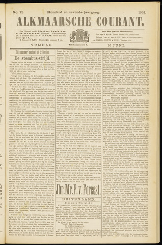 Alkmaarsche Courant 1905-06-16