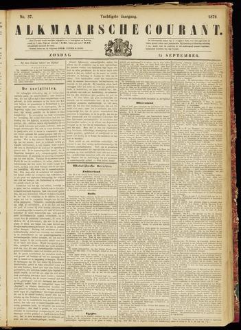 Alkmaarsche Courant 1878-09-15