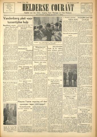 Heldersche Courant 1947-11-25