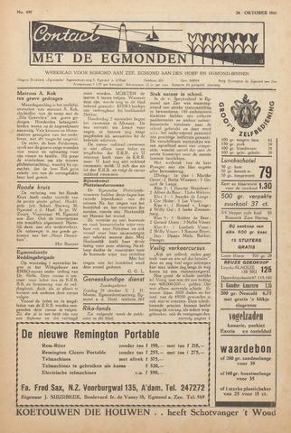 Contact met de Egmonden 1961-10-26