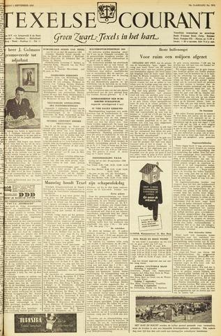 Texelsche Courant 1956-09-01