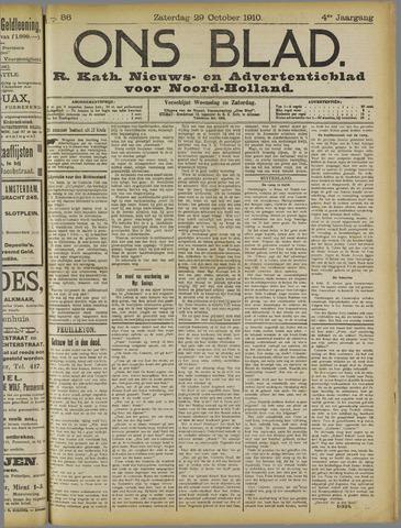 Ons Blad : katholiek nieuwsblad voor N-H 1910-10-29