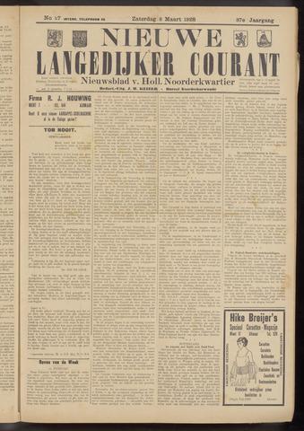 Nieuwe Langedijker Courant 1928-03-03