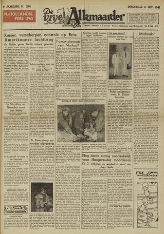 De Vrije Alkmaarder 1948-11-11