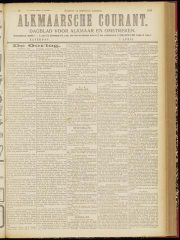 Alkmaarsche Courant 1916-04-01