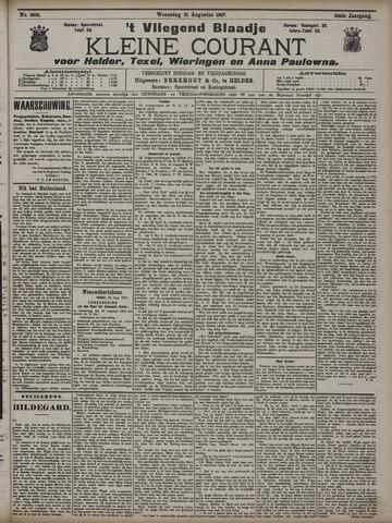 Vliegend blaadje : nieuws- en advertentiebode voor Den Helder 1907-08-21
