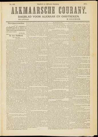 Alkmaarsche Courant 1913-12-29