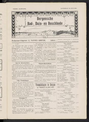 Bergensche bad-, duin- en boschbode 1913-06-21