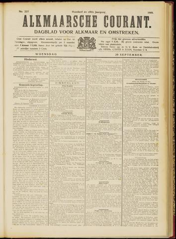Alkmaarsche Courant 1909-09-29