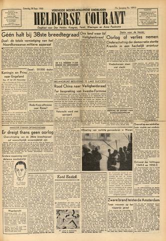 Heldersche Courant 1950-09-30