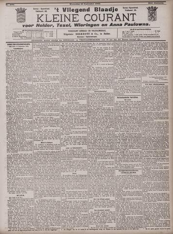 Vliegend blaadje : nieuws- en advertentiebode voor Den Helder 1903-09-16