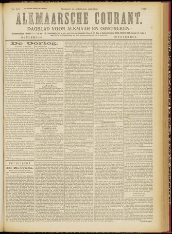 Alkmaarsche Courant 1916-11-23