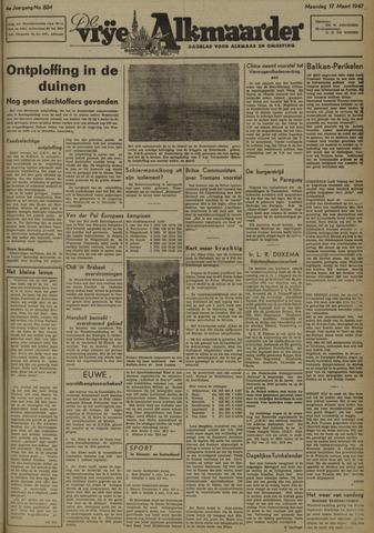 De Vrije Alkmaarder 1947-03-17