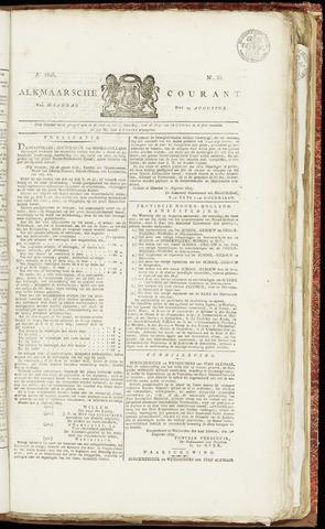 Alkmaarsche Courant 1825-08-22