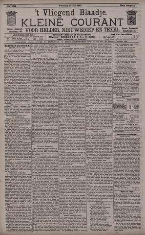 Vliegend blaadje : nieuws- en advertentiebode voor Den Helder 1895-07-17