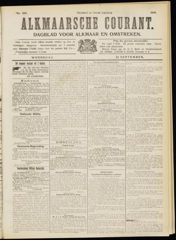 Alkmaarsche Courant 1908-09-23