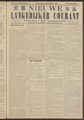 Nieuwe Langedijker Courant 1927-09-01