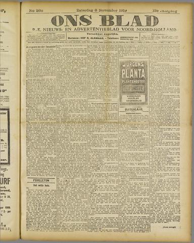 Ons Blad : katholiek nieuwsblad voor N-H 1919-11-08