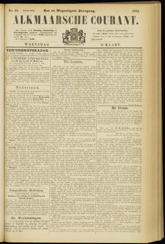 Alkmaarsche Courant 1894-03-21