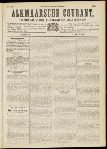 Alkmaarsche Courant 1912-10-11