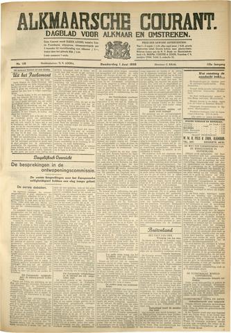 Alkmaarsche Courant 1933-06-01