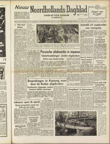 Nieuw Noordhollandsch Dagblad : voor Alkmaar en omgeving 1951-08-23