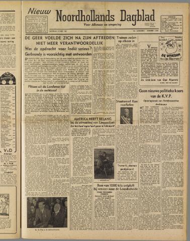 Nieuw Noordhollandsch Dagblad : voor Alkmaar en omgeving 1947-05-10