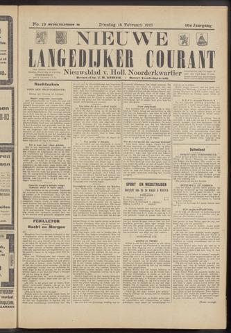 Nieuwe Langedijker Courant 1927-02-15