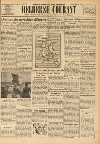 Heldersche Courant 1950-07-06