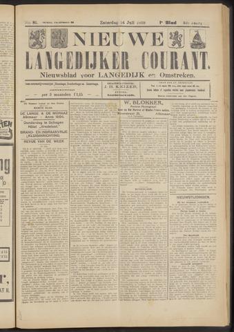 Nieuwe Langedijker Courant 1923-07-14
