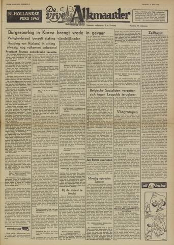 De Vrije Alkmaarder 1950-06-27