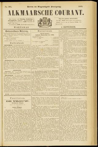Alkmaarsche Courant 1895-09-04