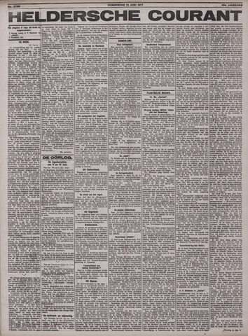 Heldersche Courant 1917-06-14