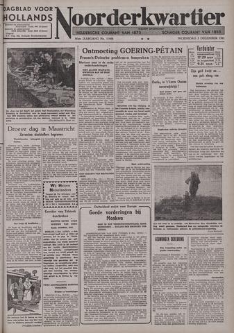 Dagblad voor Hollands Noorderkwartier 1941-12-03