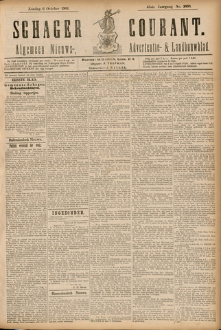 Schager Courant 1901-10-06