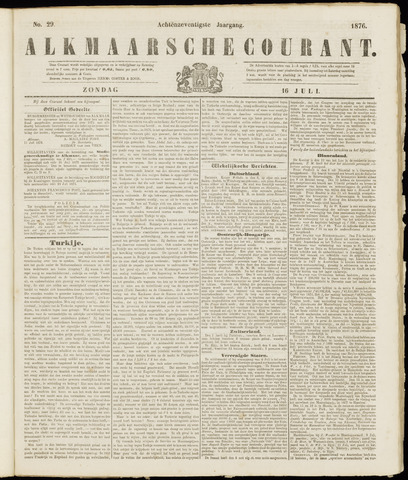Alkmaarsche Courant 1876-07-16
