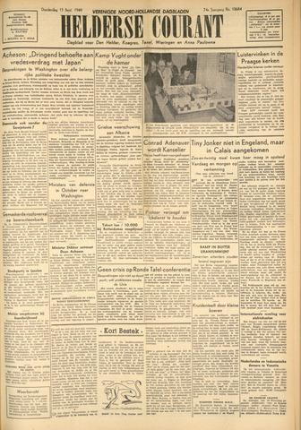 Heldersche Courant 1949-09-15