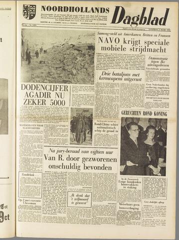 Noordhollands Dagblad : dagblad voor Alkmaar en omgeving 1960-03-03