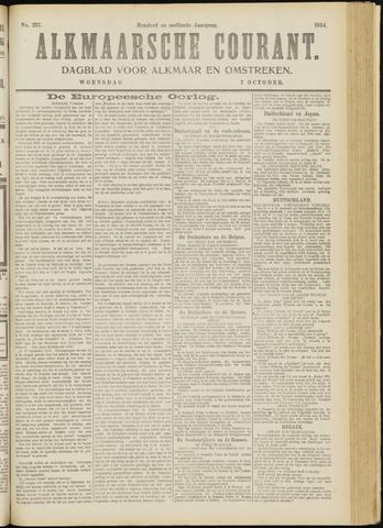 Alkmaarsche Courant 1914-10-07